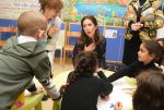08-11-2018 Rome Princess Mary visit the Vatican-owned Bambino Gesu Pediatric Hospital in Rome, Italy. 
