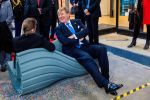 21-11-2018 Prodock King Willem-Alexander and President Halimah Yacob of Singapore visiting Prodock on the 1st day of the statevisit to the Netherlands.