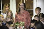 03-11-2019 USA Princess Madeleine of Sweden visits the Swedish Church in Florida, Fort Lauderdale, Florida.