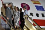 12-11-2019 Cuba Spanish King Felipe VI and Queen Letizia arrive at Jose Marti International Airport in Havana Nov. 11, 2019. 