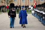 13-11-2019 Denmark Queen Margrethe attends the Queen's Clock Parade at the Royal Life Guard and hands over the