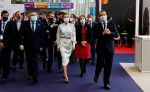 25-11-2020 TIS Queen Letizia attend the opening of the Tourism Innovation Summit, TIS 2020, in Seville.