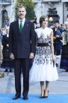 20-10-2017 Spain Queen Letizia and King Felipe during the 'Princesa de Asturias Awards 2017'ceremony at the Campoamor Theater in Oviedo.