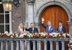 29-10-2019 Breda King Willem-Alexander and President Andrzej Duda and his wife, Agata Kornhauser-Duda, of Poland and Paul Depla, mayor of Breda, attend the celebration of the 75th anniversary of the liberation of Breda.